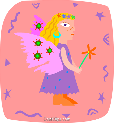 angel Royalty Free Vector Clip Art illustration peop3942