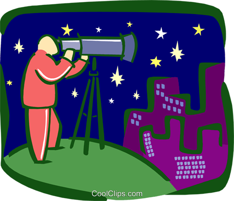 astronomy Royalty Free Vector Clip Art illustration busi1753