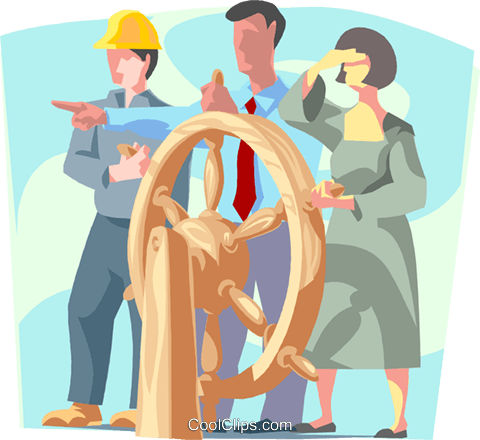 Business / navigating the markets Royalty Free Vector Clip Art illustration busi1786