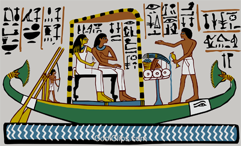 ancient Egypt Royalty Free Vector Clip Art illustration ente0169