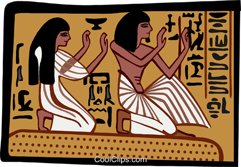 ancient Egypt Royalty Free Vector Clip Art illustration ente0178