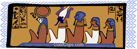 ancient Egypt Royalty Free Vector Clip Art illustration ente0179