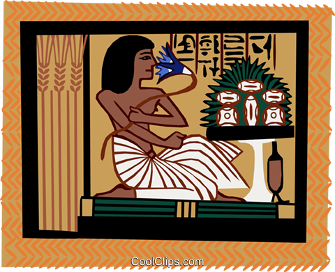 ancient Egypt Royalty Free Vector Clip Art illustration ente0180