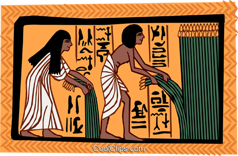 ancient Egypt Royalty Free Vector Clip Art illustration ente0181