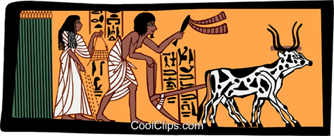 ancient Egypt Royalty Free Vector Clip Art illustration ente0182