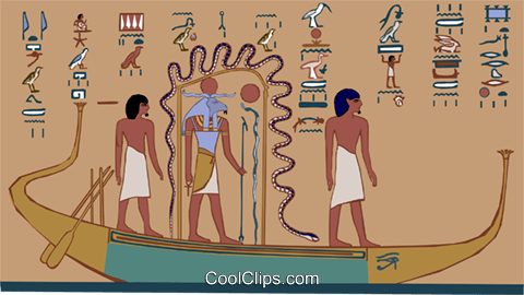 ancient Egypt Royalty Free Vector Clip Art illustration ente0183