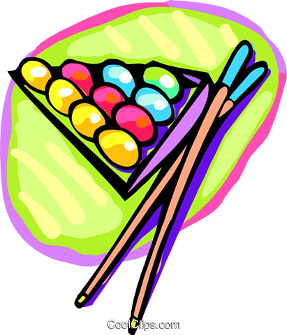 Pool balls and cues Royalty Free Vector Clip Art illustration spor0462