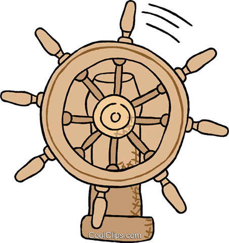 business navigation wheel Royalty Free Vector Clip Art illustration tran1016