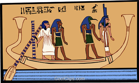 ancient Egypt Royalty Free Vector Clip Art illustration ente0191