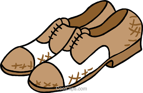 shoes Royalty Free Vector Clip Art illustration hous1447