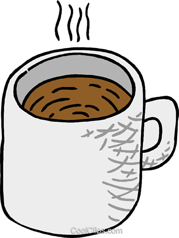 cup of coffee Royalty Free Vector Clip Art illustration food1221