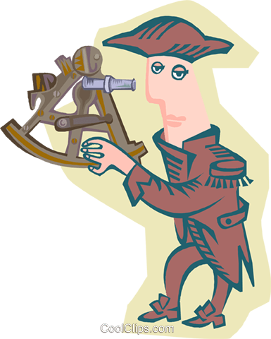 early explorer Royalty Free Vector Clip Art illustration peop4115