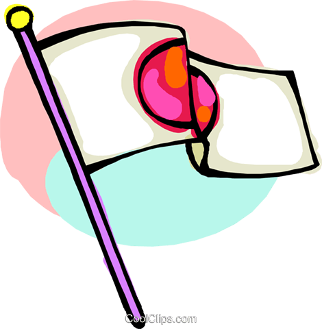 international flags, Japan Royalty Free Vector Clip Art illustration flag0004