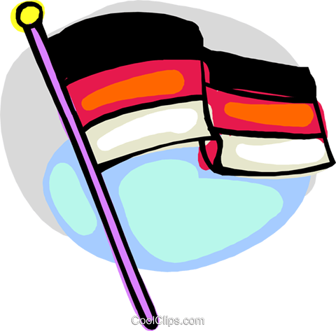 flag Royalty Free Vector Clip Art illustration flag0012