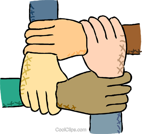 multicultural hands inter joined royalty free vector clip art rh search coolclips com multicultural faces clip-art multicultural clip art free