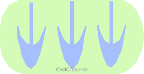 down arrows Royalty Free Vector Clip Art illustration divi0229