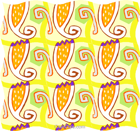 Cool wallpaper pattern Royalty Free Vector Clip Art illustration divi0240