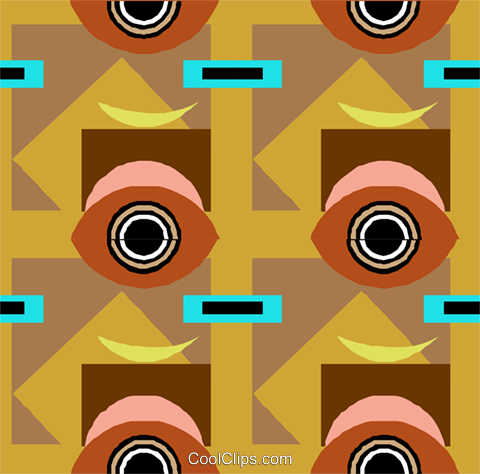 Cool wallpaper pattern Royalty Free Vector Clip Art illustration divi0329