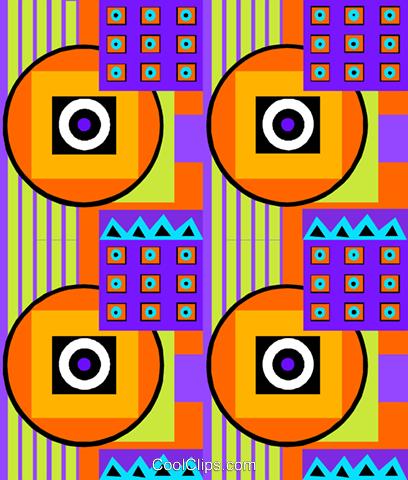 Cool tapetenmuster vektor clipart bild divi0333 for Coole tapetenmuster