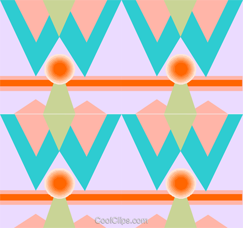 Cool wallpaper pattern Royalty Free Vector Clip Art illustration divi0364