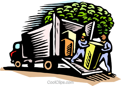 Shipping merchandise Royalty Free Vector Clip Art illustration indu1066