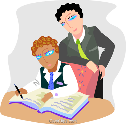 Business meeting Royalty Free Vector Clip Art illustration busi2479