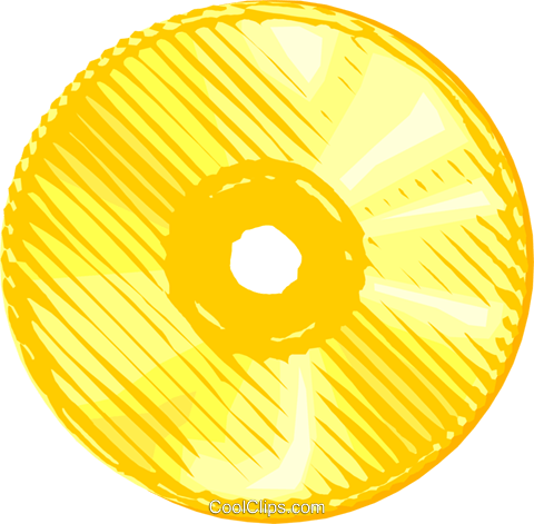 CD disk Royalty Free Vector Clip Art illustration busi2527