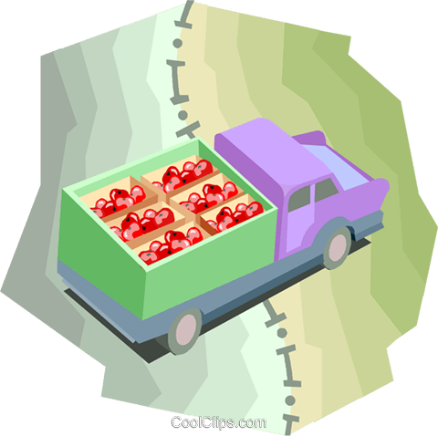 Vehicle crossing state line Royalty Free Vector Clip Art illustration indu1080