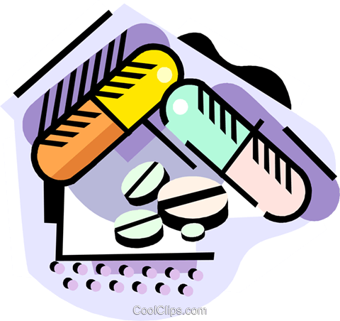 Medication Royalty Free Vector Clip Art illustration medi0383