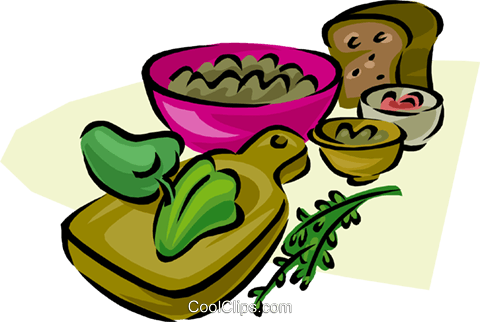 salad Royalty Free Vector Clip Art illustration vc000249