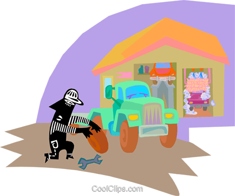 auto mechanic Royalty Free Vector Clip Art illustration vc000315