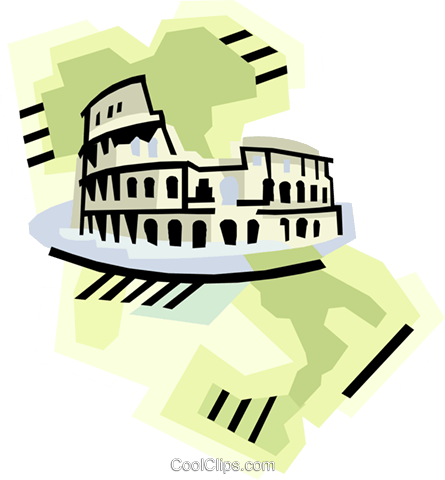 geotechnical style, Italy Royalty Free Vector Clip Art illustration vc000391
