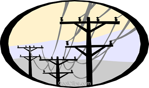 electrical energy Royalty Free Vector Clip Art illustration vc000575