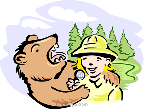 Nature Documentary Royalty Free Vector Clip Art illustration vc000750
