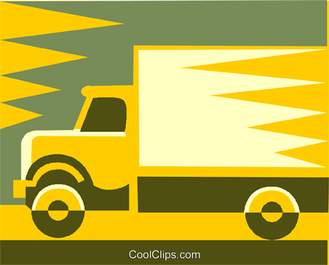 truck design Royalty Free Vector Clip Art illustration vc002067