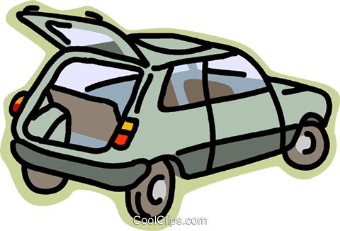 transportation, automobile Royalty Free Vector Clip Art illustration vc002584