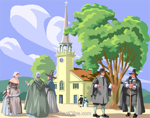 Amish church religion Royalty Free Vector Clip Art illustration vc002633