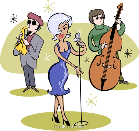 lounge act Royalty Free Vector Clip Art illustration vc002990