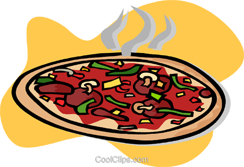 pizza Royalty Free Vector Clip Art illustration vc003201