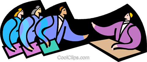 symbolic people; business Royalty Free Vector Clip Art illustration vc003370