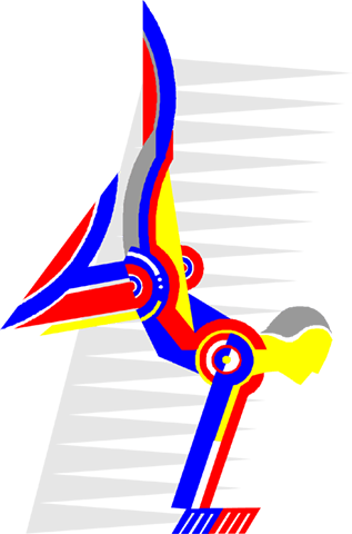 gymnastics Royalty Free Vector Clip Art illustration vc004071