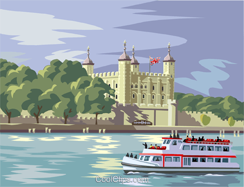 London tower Royalty Free Vector Clip Art illustration vc004300