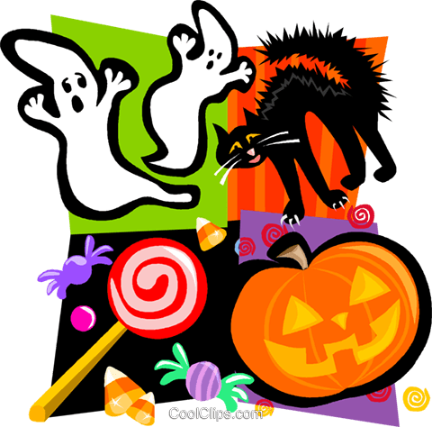 Halloween Royalty Free Vector Clip Art illustration vc004555