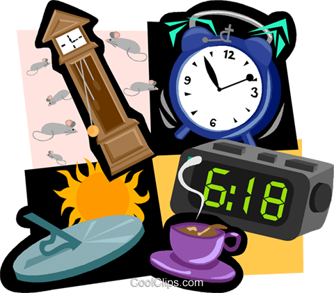 clocks Royalty Free Vector Clip Art illustration vc004747