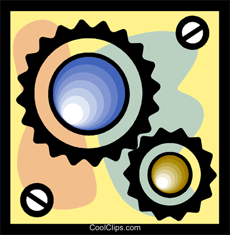 gears Royalty Free Vector Clip Art illustration vc004774