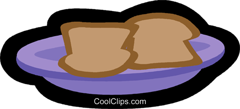 toast Royalty Free Vector Clip Art illustration vc004845