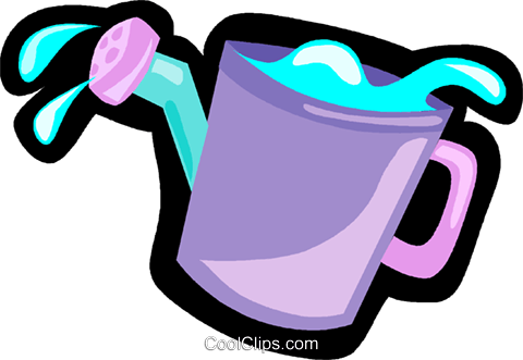 watering can Royalty Free Vector Clip Art illustration vc004949