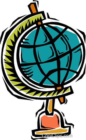 globe Royalty Free Vector Clip Art illustration vc005237