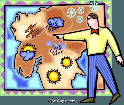 Weatherman Clip Art