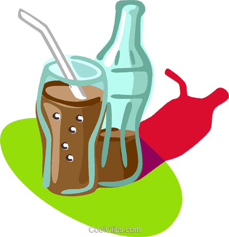 cola Royalty Free Vector Clip Art illustration vc005599